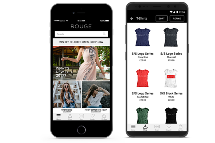 Consumer retail app - digital store platform for retail | Red Ant